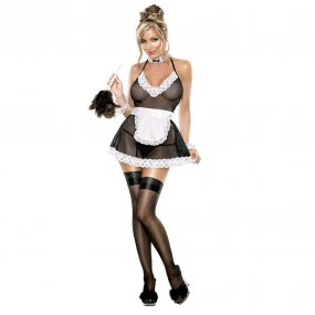 Exposed: Chamber Maid Outfit - L/XL 1 Product Image