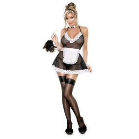 Exposed: Chamber Maid Outfit - S/M 1 Product Image