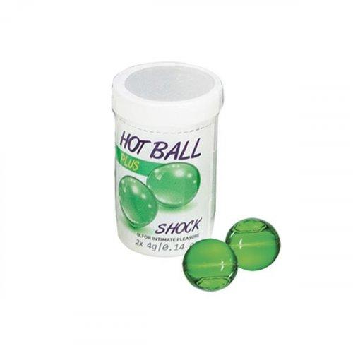 Hot Balls Plus - Shock - 2 Lube Balls 1 Product Image