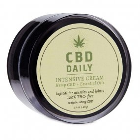 Earthly Body CBD Daily Intensive Concentrated Cream - 1.7oz Tub 1 Product Image