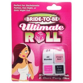 Bride To Be Ultimate Roll Dice Game 1 Product Image