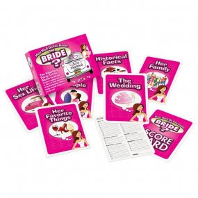 How Well Do You Know The Bride Trivia Game 1 Product Image