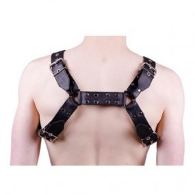 Rouge O T H-Front Harness - Large - Black 2 Product Image