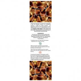 EXSENS of Paris Organic Massage Oil w/Stones - Tiger Eye Macadamia 2 Product Image