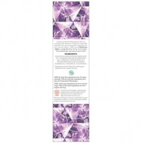 EXSENS of Paris Organic Massage Oil w/Stones - Amethyst Sweet Almond 2 Product Image