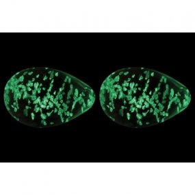 Firefly Glass Glow In The Dark Kegel Eggs - Clear 2 Product Image