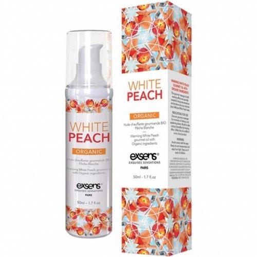 EXSENS of Paris Organic Massage Oil - White Peach 1 Product Image