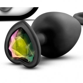 Luxe - Bling Plugs Training Kit - Black With Rainbow Gems 2 Product Image