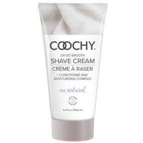 Coochy Rash Free Shave Cream - Au Natural - 3.4oz 1 Product Image