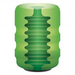 Zolo Original Pocket Stroker - Ribbed Texture - Green 2 Product Image