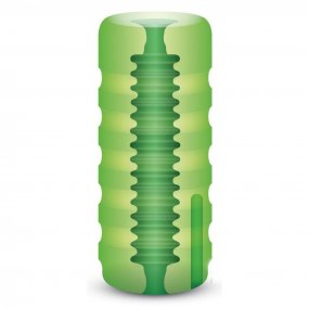 Zolo Original Stroker - Squeezable Vibrating Stroker - Green 2 Product Image