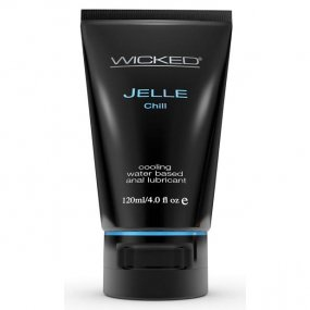 Wicked Cooling Anal Jelle - Chill - 4 oz. 1 Product Image