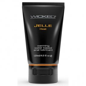Wicked Warming Anal Jelle - 4 oz. 1 Product Image