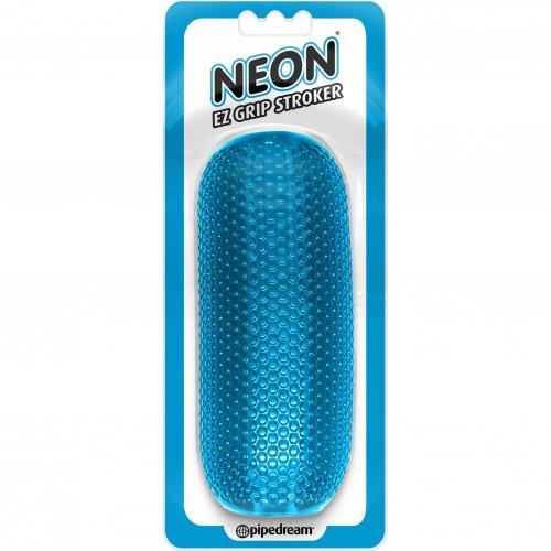Neon EZ Grip Stroker - Blue 1 Product Image
