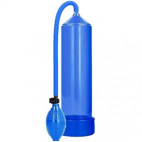 Pumped: Classic Penis Pump - Blue 1 Product Image