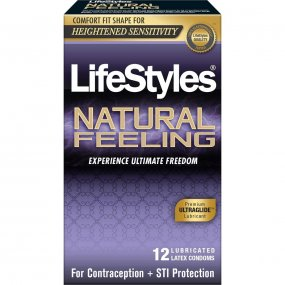 LifeStyles Natural Feeling - 12 Pack 1 Product Image