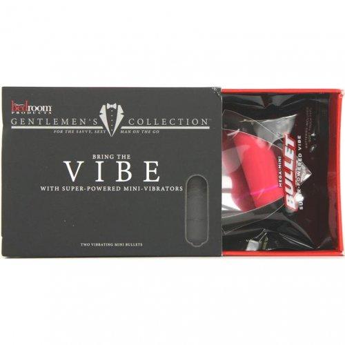 VIBE: Velvety Soft-touch Bullet Vibrators - 2 Per Pack 1 Product Image