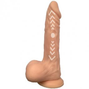 Skinsations Cum Quake 2 Throbing Pulsating Dildo w/ Suction Cup and Remote 2 Product Image