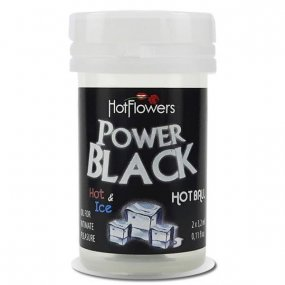 Hot Balls - Power Black - Intense Heat and Cold - 2 Lube Balls 1 Product Image