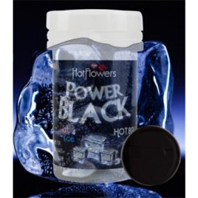 Hot Balls - Power Black - Intense Heat and Cold - 2 Lube Balls 2 Product Image