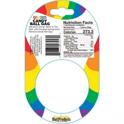 Rainbow Candy Ball Gag 2 Product Image