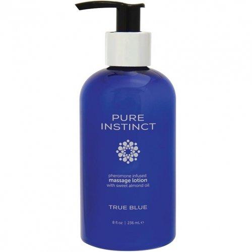Pure Instinct Pheromone Body Lotion True Blue - 8oz 1 Product Image