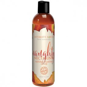 Intimate Earth: Naughty Nectarine Flavored Lubricant - 2 oz 1 Product Image