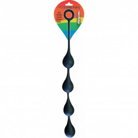 Pleasure Pops Silicone Teardrop Anal Beads - Large 1 Product Image