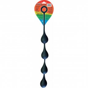Pleasure Pops Silicone Teardrop Anal Beads - Large 2 Product Image