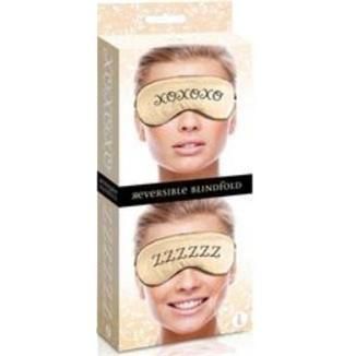 The 9's Reversible XO/ZZ Satin Blindfold 2 Product Image