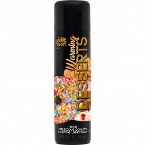 Wet Desserts Warming Water Based Delicious Donuts Flavored Lubricant - 3oz. 1 Product Image