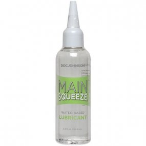Main Squeeze Water Based Lubricant - 3.4 oz 1 Product Image