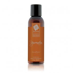 Sliquid Balance Rejuvenation Sensual Massage Oil - Mandarin Basil - 4.2oz. 1 Product Image