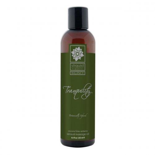 Sliquid Balance Tranquility Sensual Massage Oil - Coconut Lime - 4.2oz. 1 Product Image