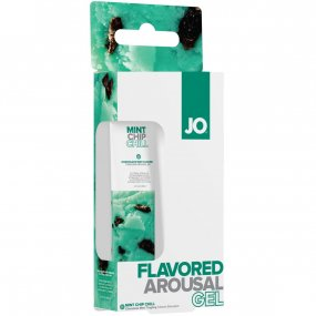 Jo Mint Chip Chill Water Based Arousal Gel - Mint 2 Product Image