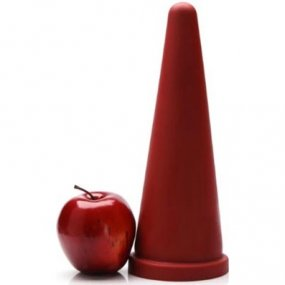 Tantus Large Cone - Red 2 Product Image