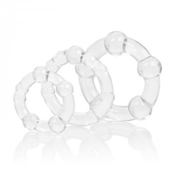 Silicone Island Rings - Clear Image