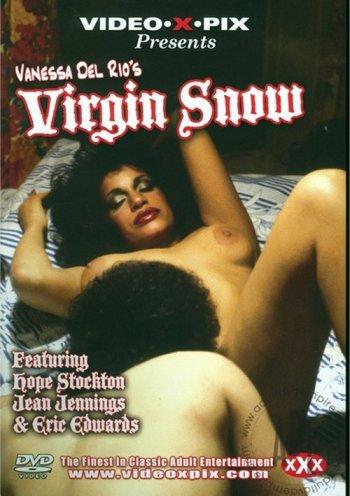 """Vanessa Del Rio's """"Virgin Snow"""" Image"""