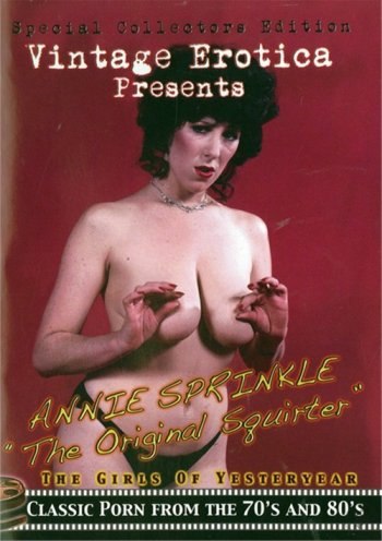 "Annie Sprinkle ""The Original Squirter"" Image"