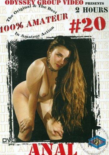 100% Amateur #20: Anal Image
