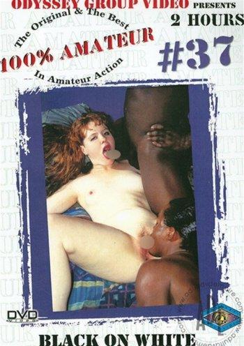 100% Amateur #37: Black on White Image