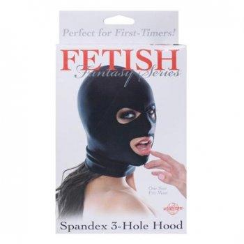 Fetish Fantasy Spandex 3-Hole Hood Image