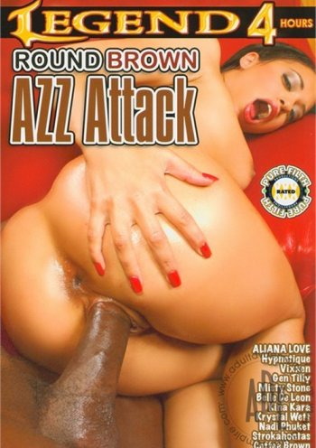 Round Brown Azz Attack Image