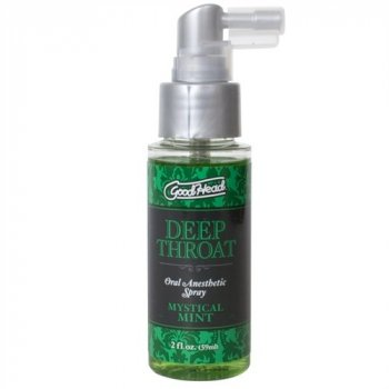 Good Head Deep Throat Spray - Mystical Mint Image