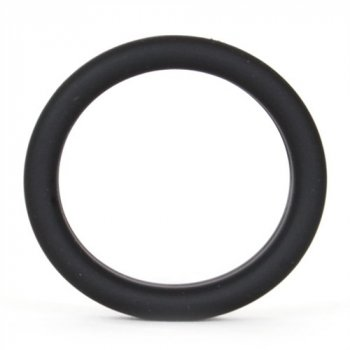 Super Soft Cock & Ball Ring - Black Image