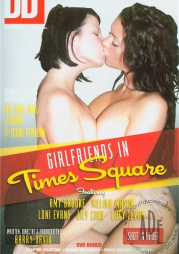 Girlfriends In Time Square Image