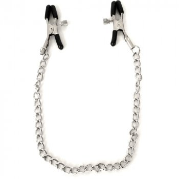Sex & Mischief: Chained Nipple Clamps Image
