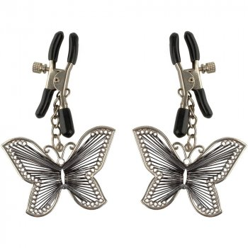 Fetish Fantasy Butterfly Nipple Clamps Image