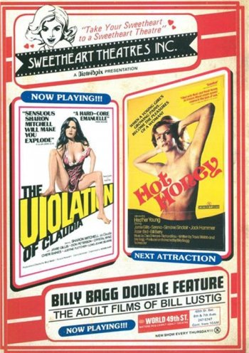 Billy Bagg Double Feature, The: The Violation Of Claudia / Hot Honey Image