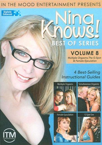 Nina Knows! Best Of Series Vol. 8: Multiple Orgasms, The G-Spot & Female Ejaculation Image